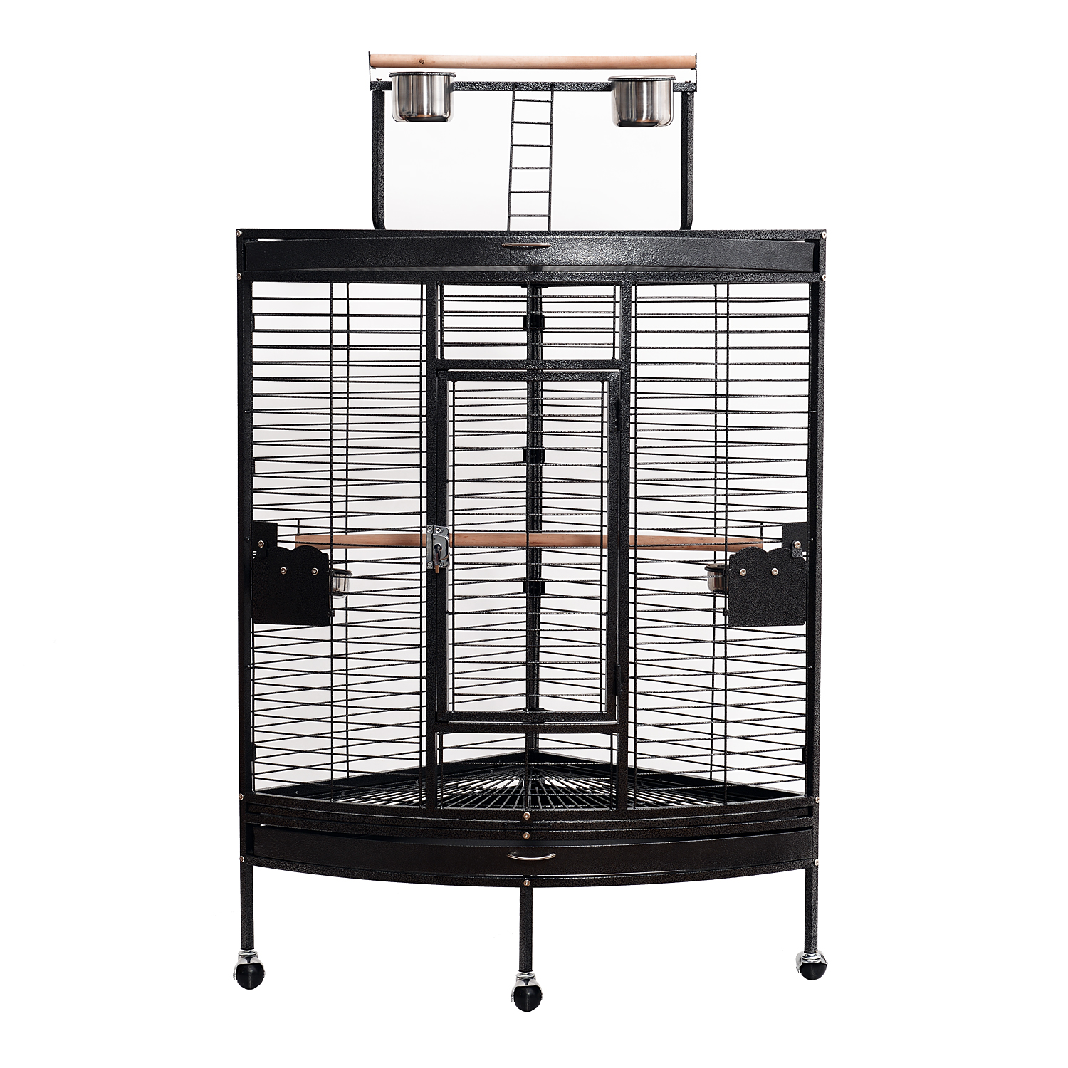 59 large corner parrot bird cage playtop stand finch macaws aviary pet supply ebay. Black Bedroom Furniture Sets. Home Design Ideas