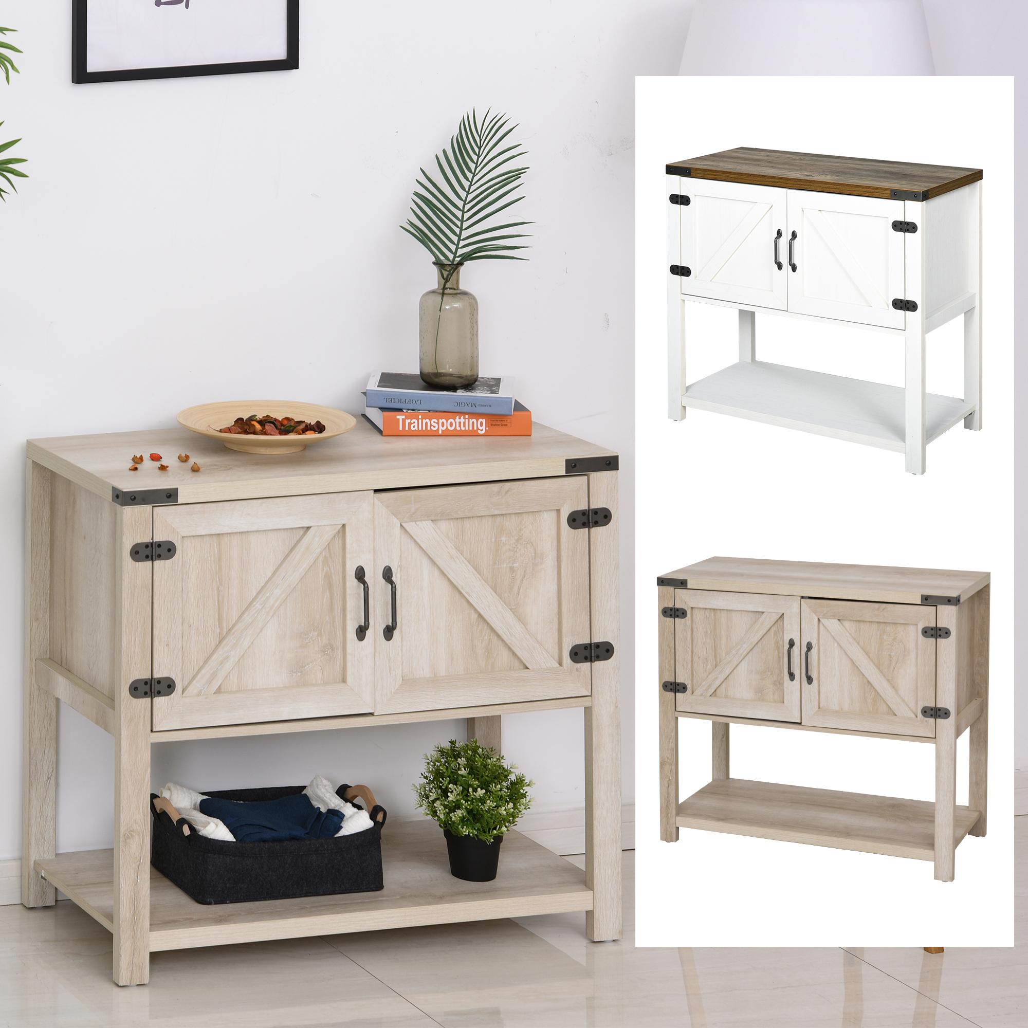 Multipurpose Corner Pantry W Buffet Server Countertop Surface Easy To Clean Ebay