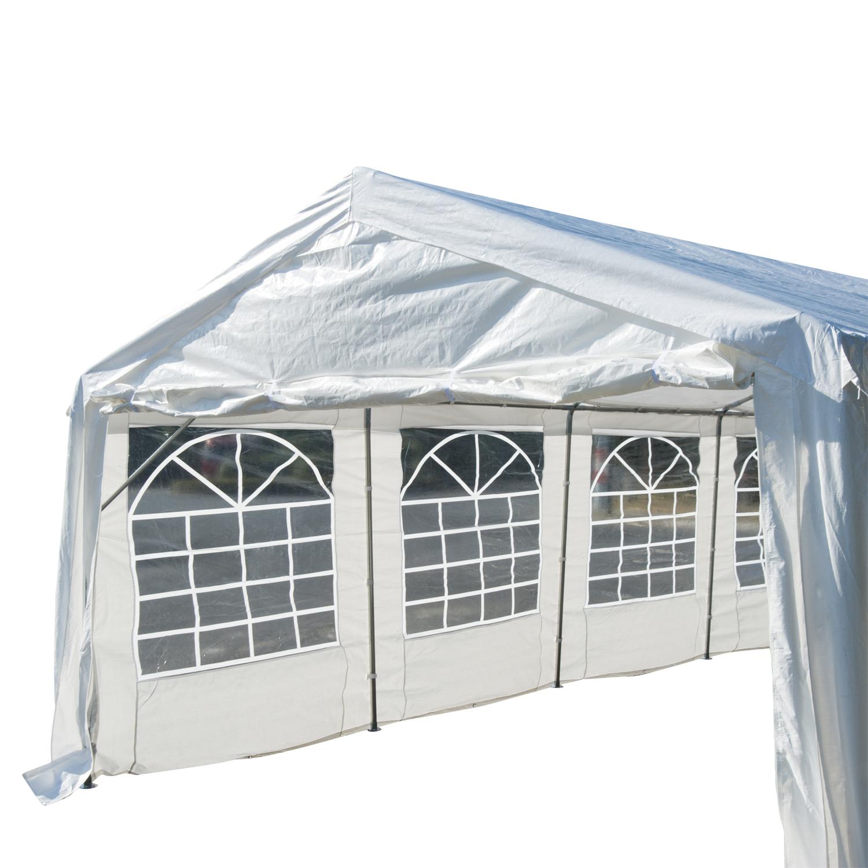 Garden Gazebo Marquee Party Wedding Tent Portable Carport ...