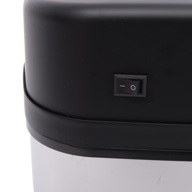 ACCIAIO-Inox-Automatico-Sensore-PATTUMIERA-IMMONDIZIA-SPAZZATURA-CUCINA-CESTINO-NUOVO miniatura 11