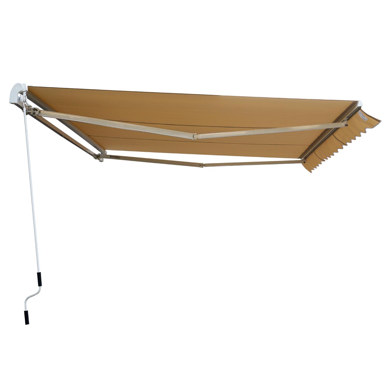 Garden-Patio-Manual-Awning-Canopy-Sun-Shade-Shelter-Retractable-4-Size-5-Colour thumbnail 44