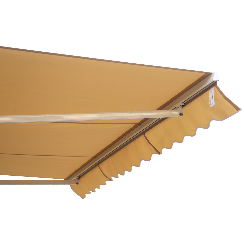 Garden-Patio-Manual-Awning-Canopy-Sun-Shade-Shelter-Retractable-4-Size-5-Colour thumbnail 49