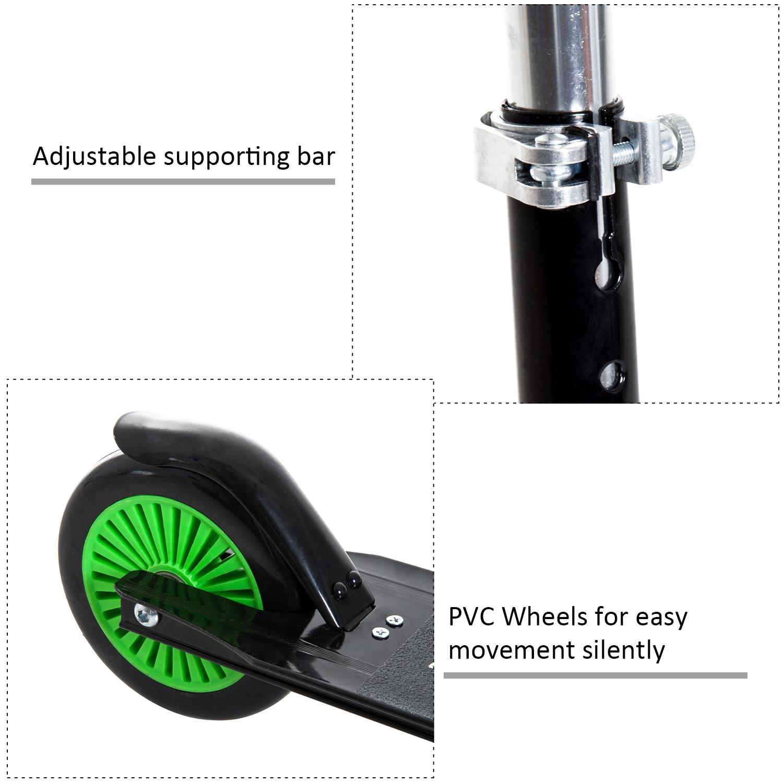 Kick-Scooter-Foldable-Wheels-Teens-Children-Commuter-Stunt-2-Colours thumbnail 5
