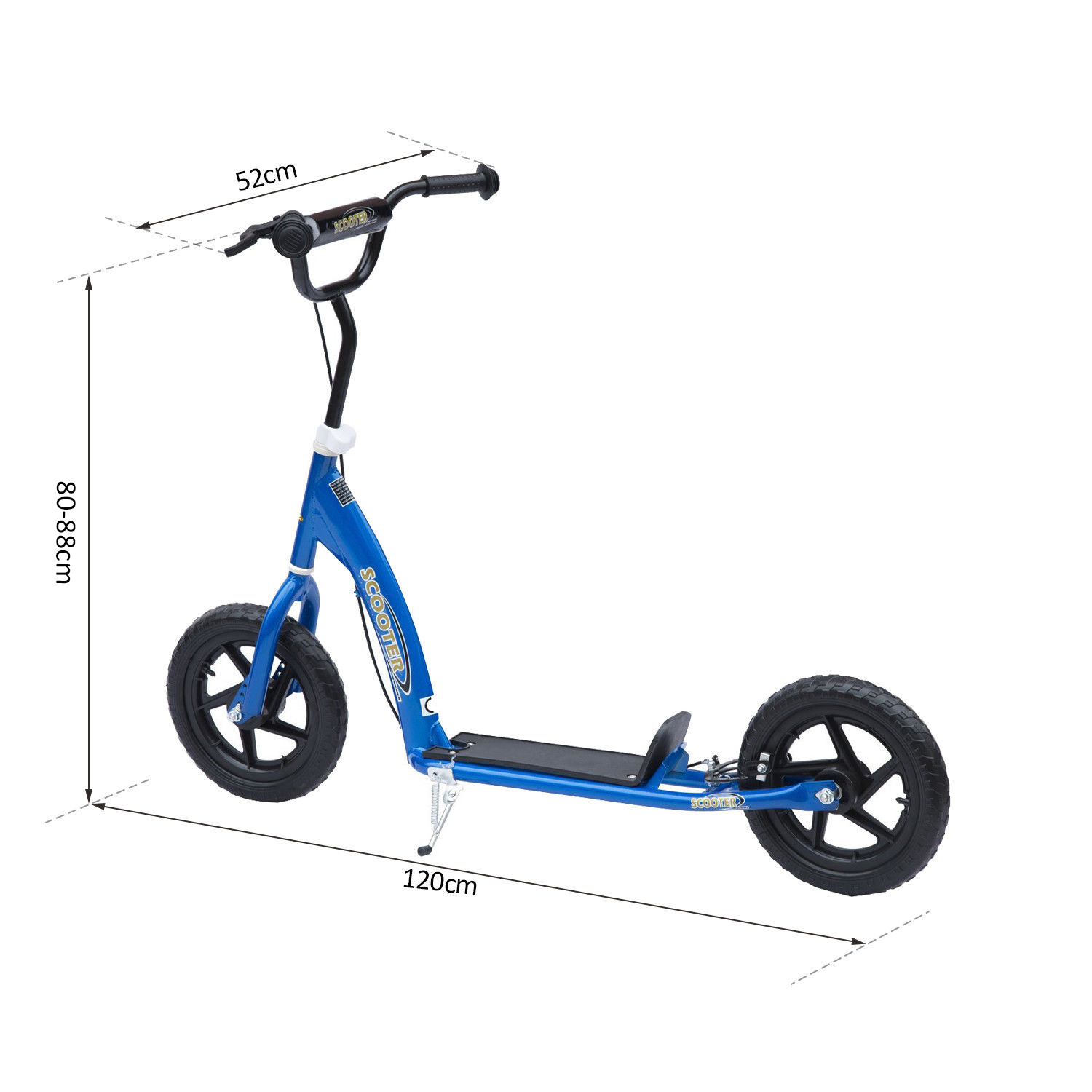 HOMCOM-4-Colours-Push-Scooter-Teen-Kids-Children-Stunt-Bike-Ride-On thumbnail 20