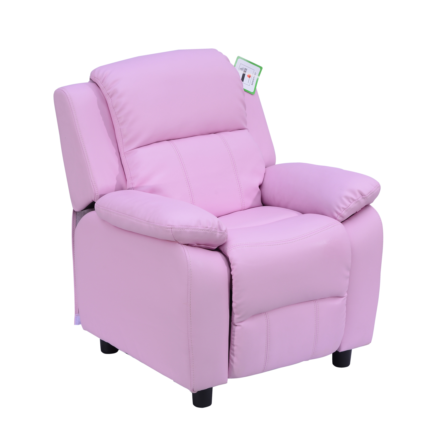 Children Kid Sofa Set Recliner Armchair Footstool Ottoman ...