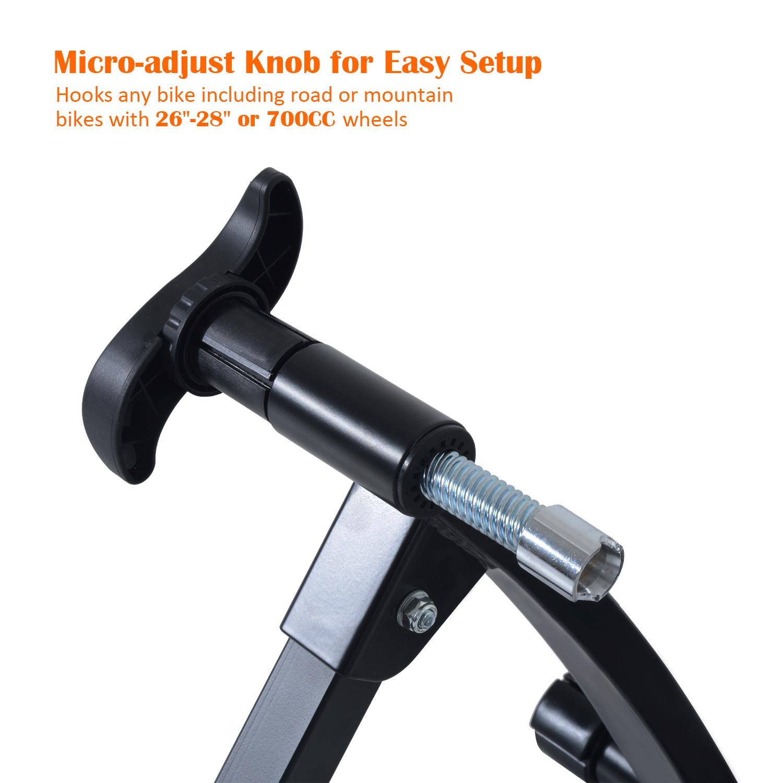 Homcom Bike Bicycle Magnetic Turbo Trainer Exercise