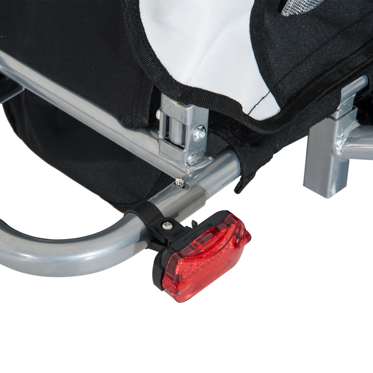 2-Seater-Child-Bike-Trailer-Kids-Carrier-Safety-Harness-Baby-Stroller-Jogger thumbnail 22