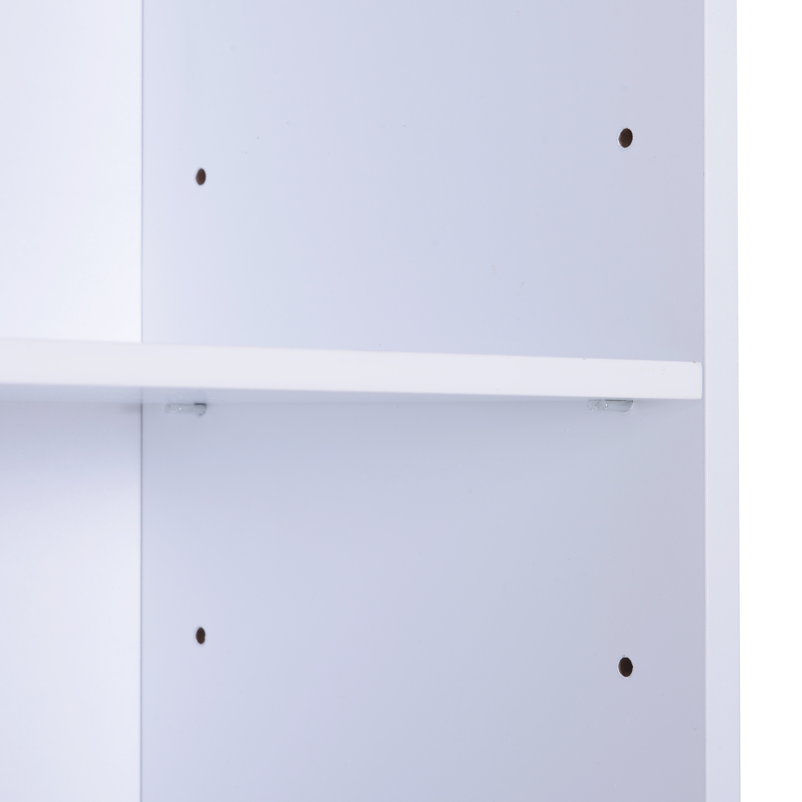 Bathroom-Cabinet-Corner-Shelf-Unit-Drawers-Tower-Cupboard-Wood-Storage-White thumbnail 17