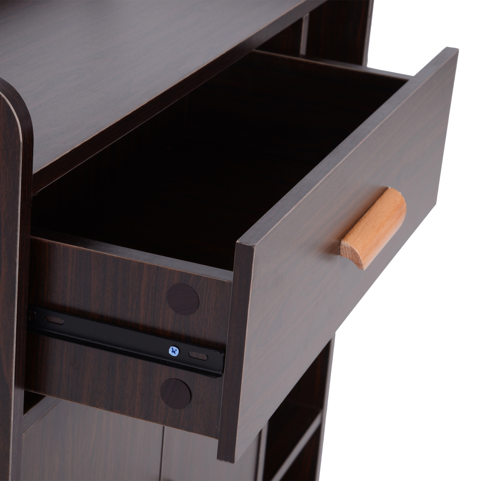 thumbnail 9 - Side-Cabinet-Hallway-Storage-Unit-Console-Table-Entrance-Shelf-Cupboard-2-color