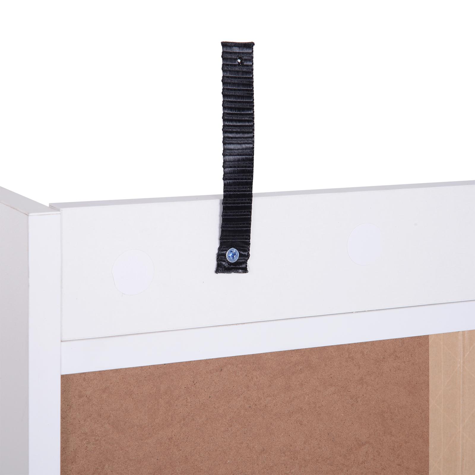 thumbnail 14 - Side-Cabinet-Hallway-Storage-Unit-Console-Table-Entrance-Shelf-Cupboard-2-color
