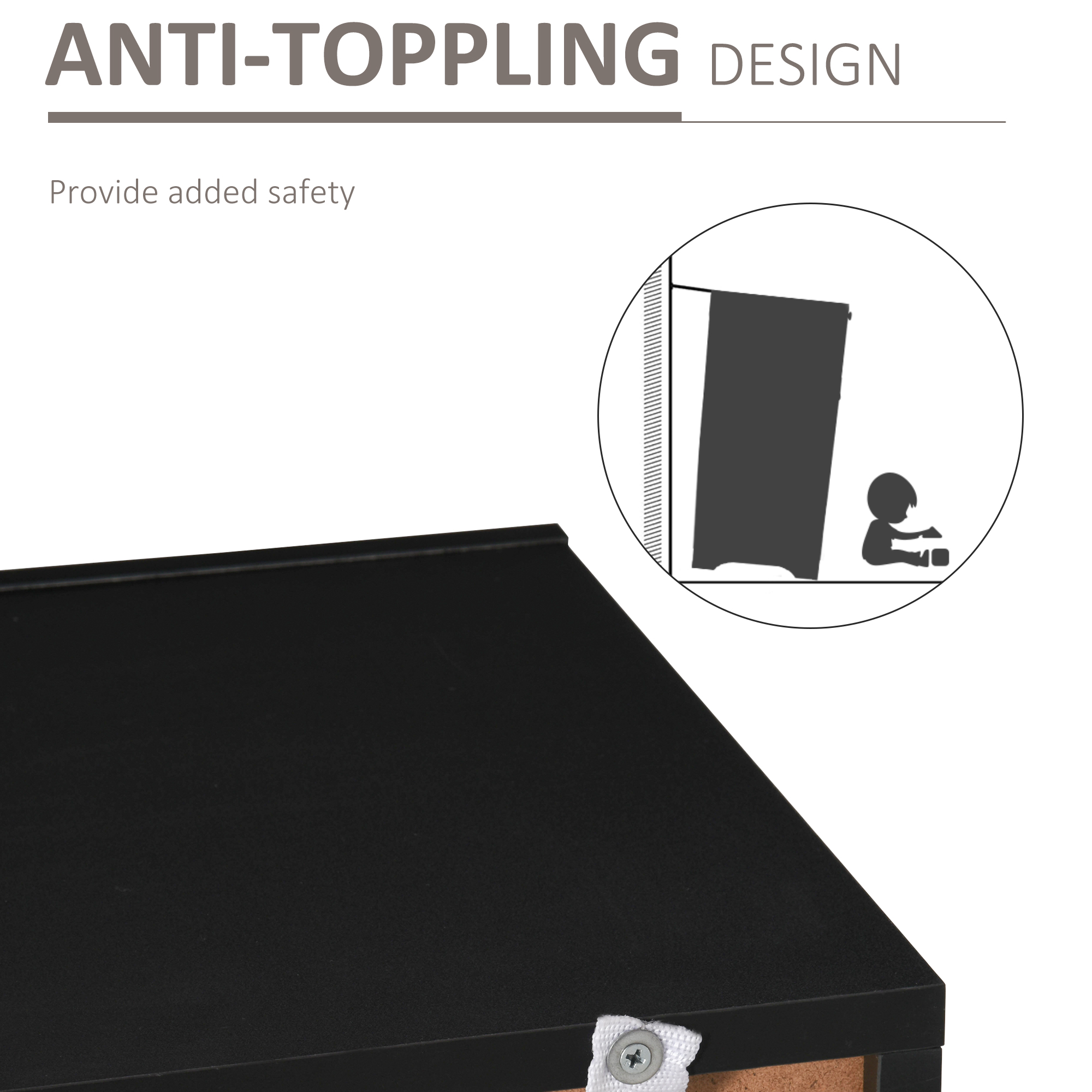 thumbnail 6 - High Gloss LED Cabinet Cupboard Sideboard Console with RGB Lighting