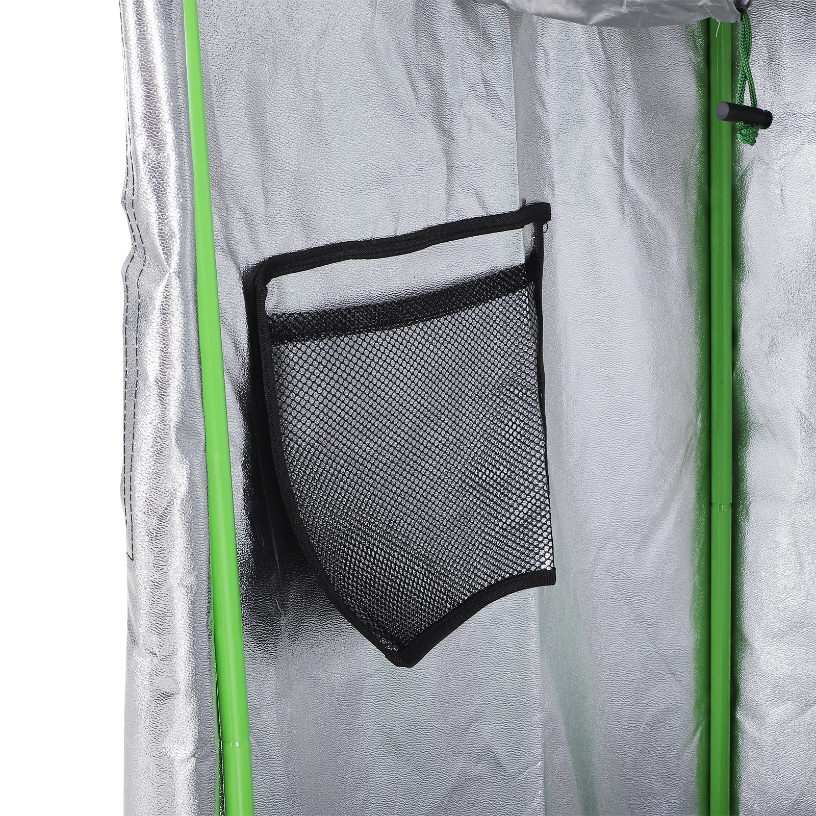 Hydroponic-Plant-Grow-Tent-Indoor-Obeservation-Window-Floor-Tray-Steel-Pole-600D thumbnail 22