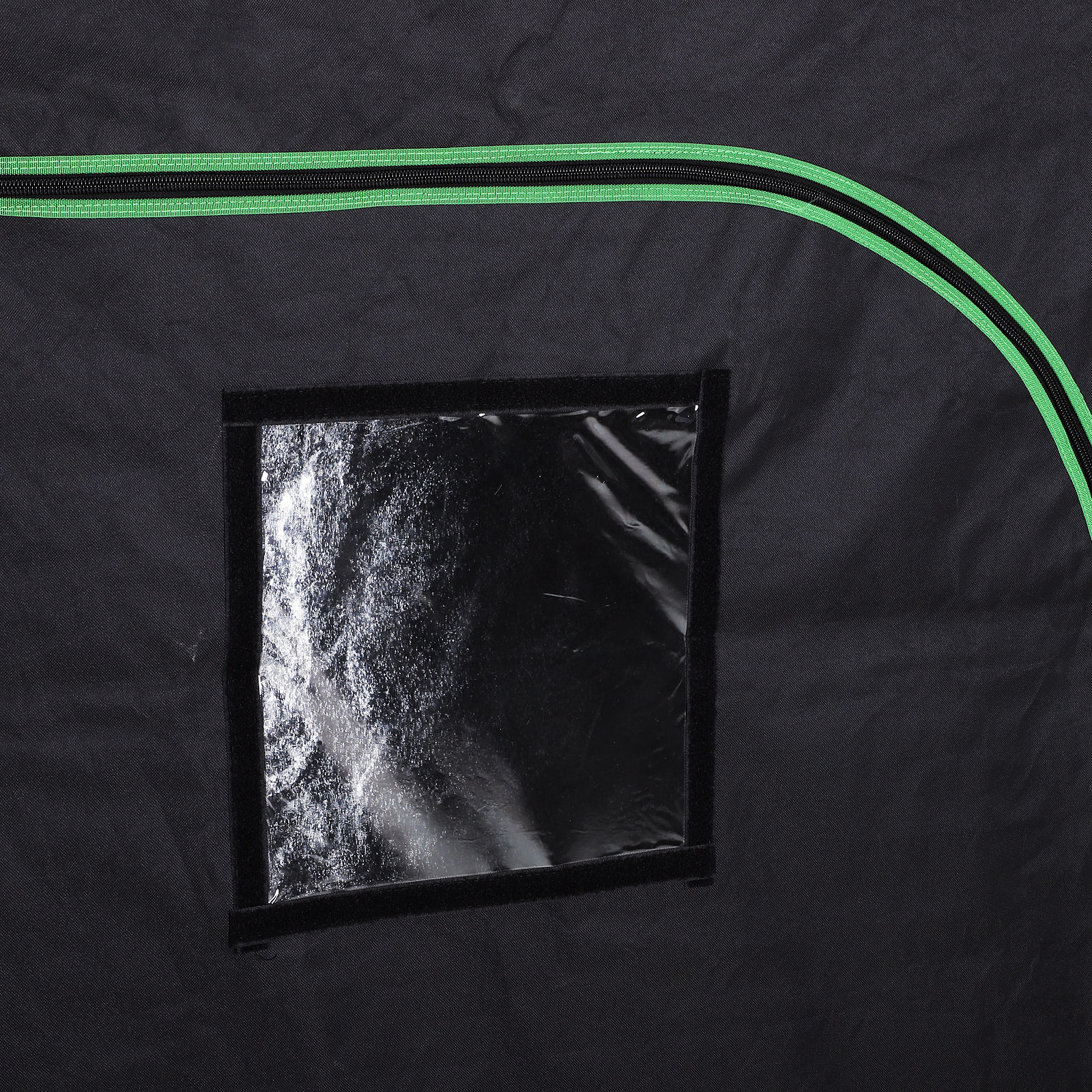 Hydroponic-Plant-Grow-Tent-Indoor-Obeservation-Window-Floor-Tray-Steel-Pole-600D thumbnail 10