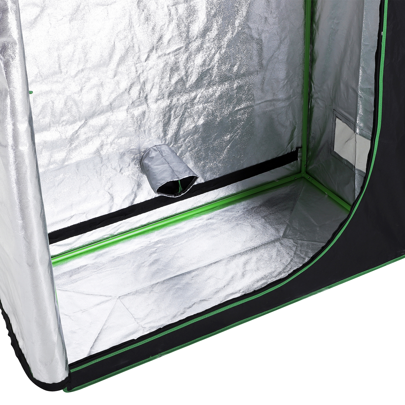 Hydroponic-Plant-Grow-Tent-Indoor-Obeservation-Window-Floor-Tray-Steel-Pole-600D thumbnail 12