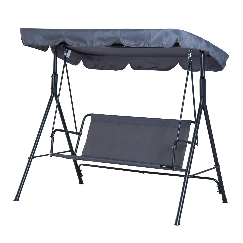 Garden-Hammock-Swing-Chair-Backyard-3-Seater-Adjustable-Canopy-Patio-Outdoor thumbnail 31
