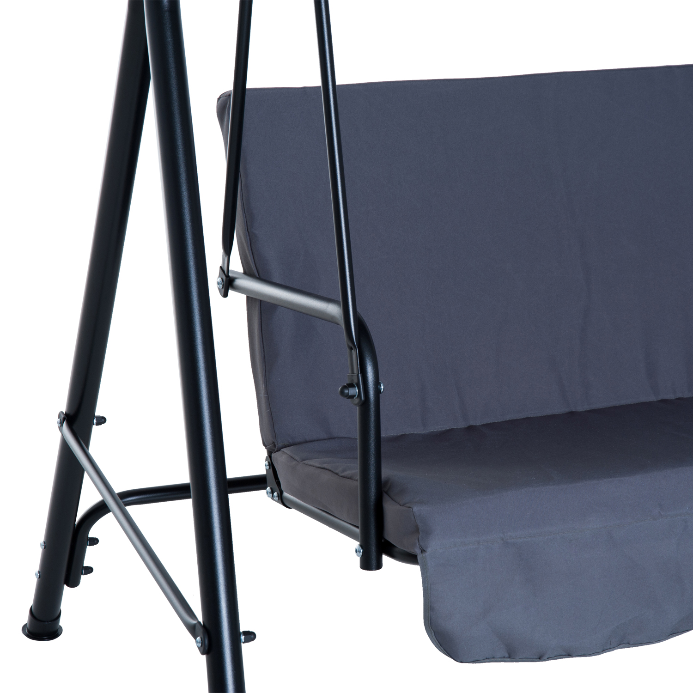 Garden-Hammock-Swing-Chair-Backyard-3-Seater-Adjustable-Canopy-Patio-Outdoor thumbnail 32