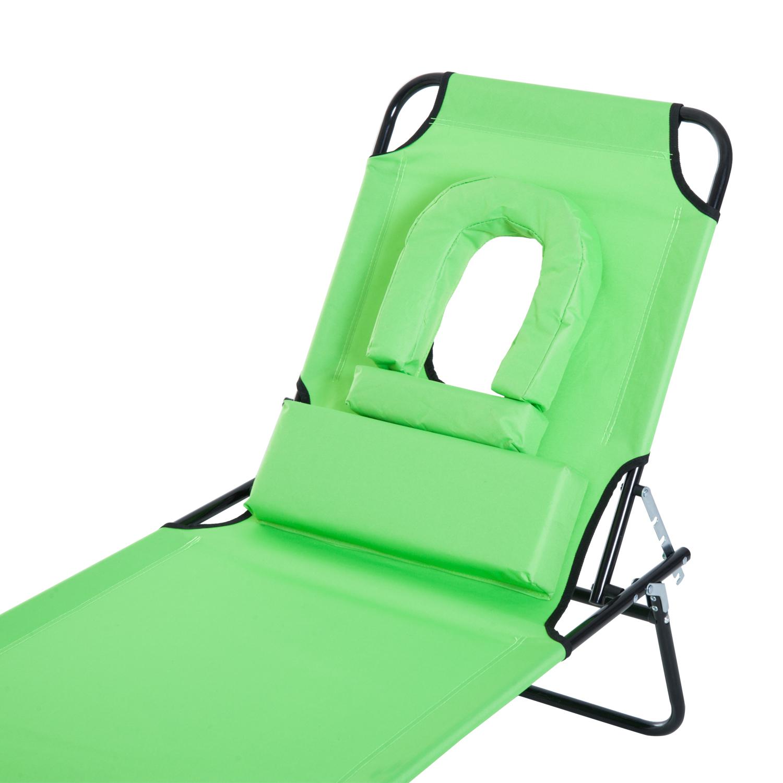 Set of 2 Loungers - Grey Marko Outdoor Reclining Sun Lounger Zero Gravity Folding Chair Bed Seat Patio Garden Poolside Recliner