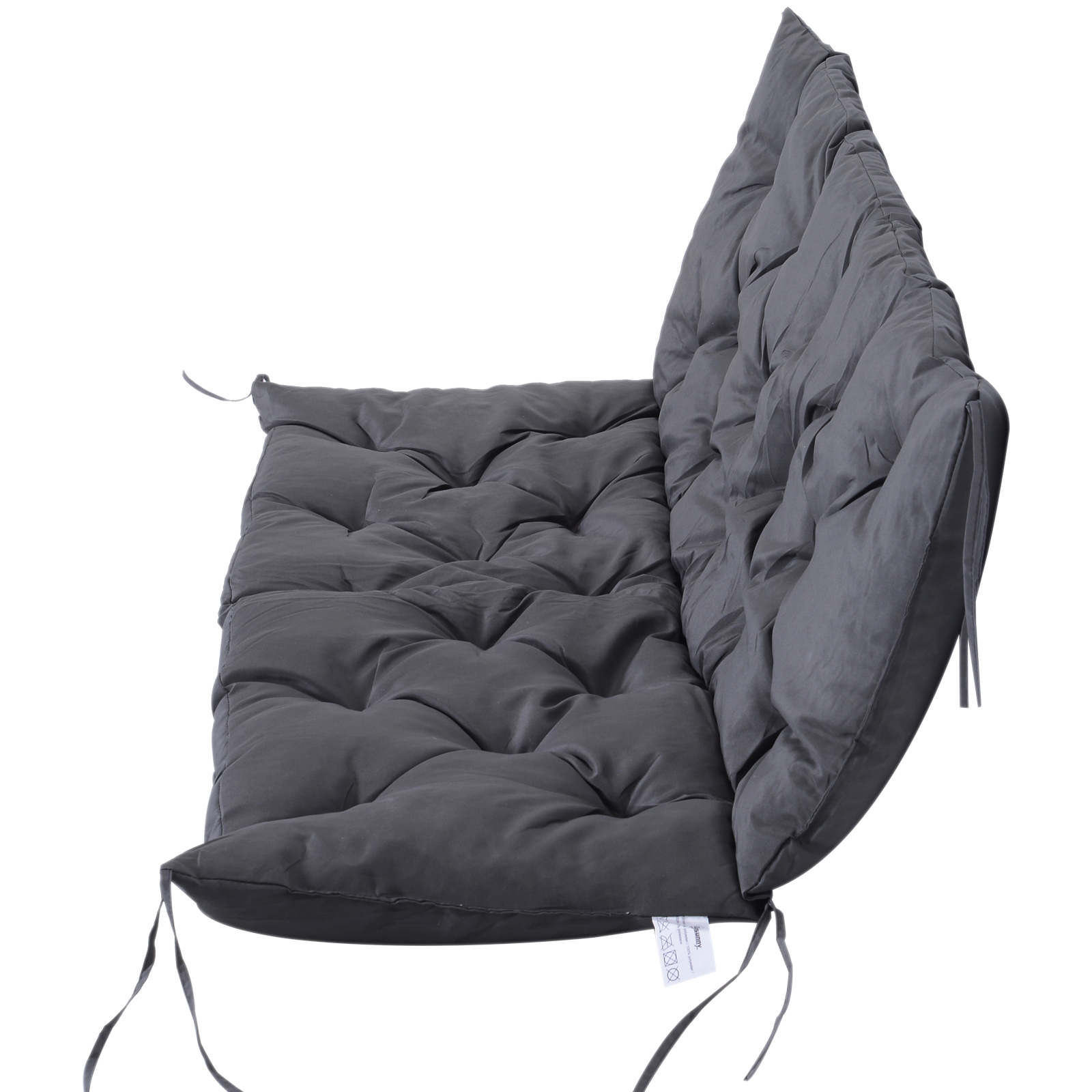 3-Seater-2-Seater-Bench-Swing-Seat-Cushion-ONLY-Garden-Furniture-Pad-Backrest thumbnail 22