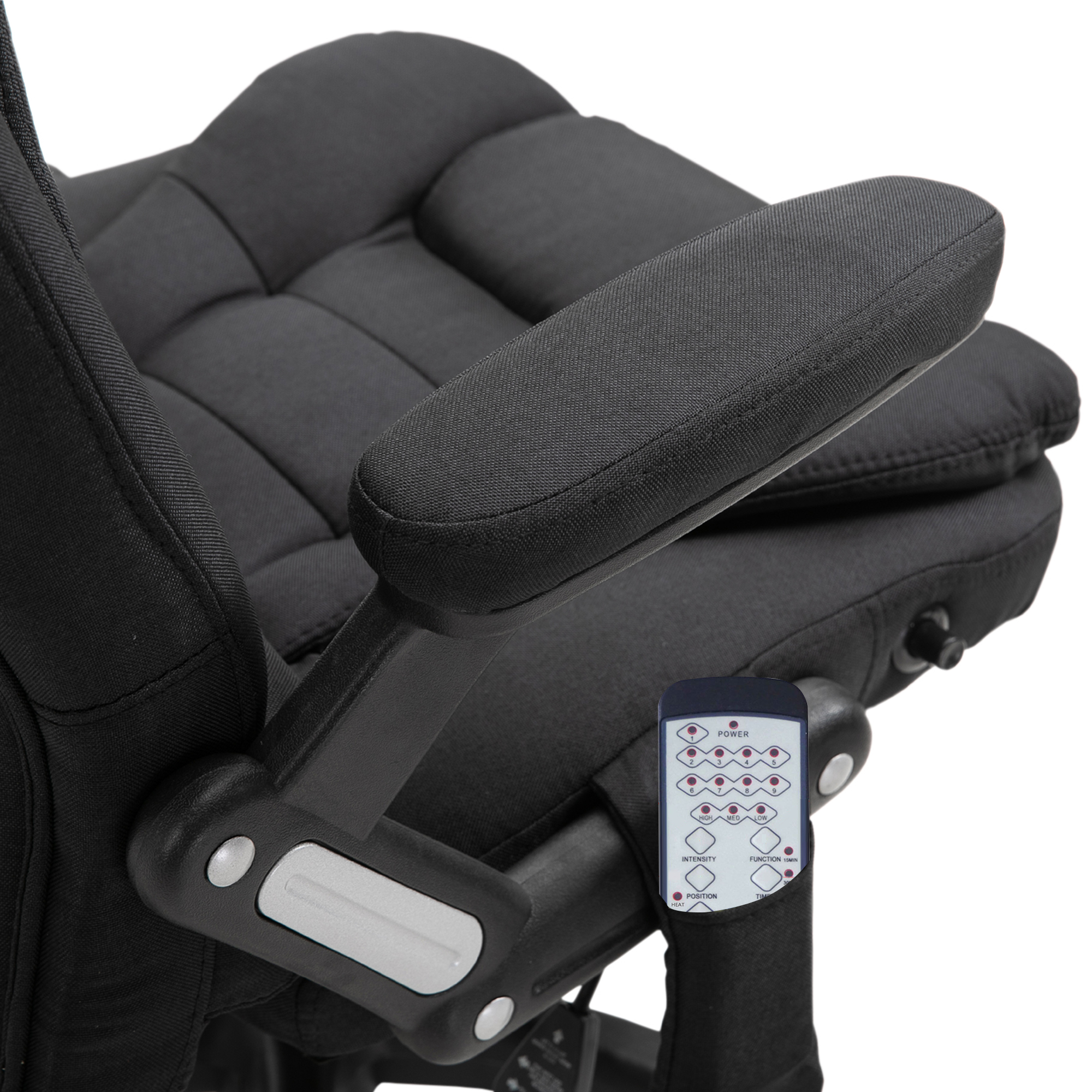 thumbnail 7 - Executive Reclining Chair 130°w/6 Heating Massage Points Relaxing Headrest