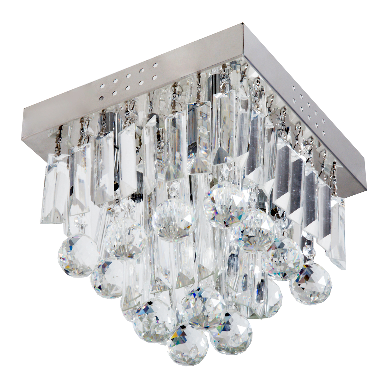 Crystal-Chandelier-Fixation-Plafond-Lumiere-Pendentif-Lampe-Moderne-eclairage-Tissu