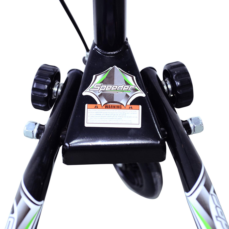 Kids-3-Wheels-Speeder-Scooter-Tri-Slider-Winged-Push-Motion-Children-Adjustable thumbnail 10