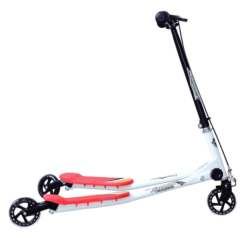 Kids-3-Wheels-Speeder-Scooter-Tri-Slider-Winged-Push-Motion-Children-Adjustable thumbnail 40