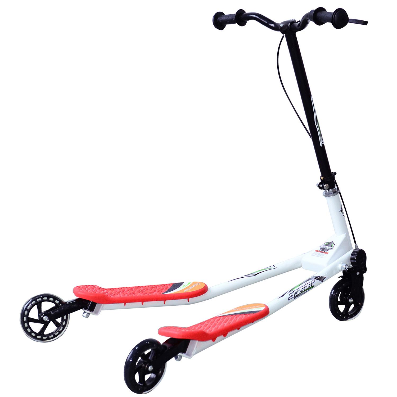 Kids-3-Wheels-Speeder-Scooter-Tri-Slider-Winged-Push-Motion-Children-Adjustable thumbnail 41