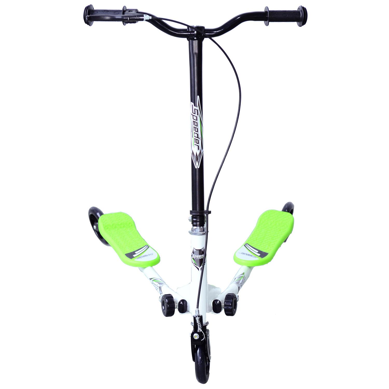 Kids-3-Wheels-Speeder-Scooter-Tri-Slider-Winged-Push-Motion-Children-Adjustable thumbnail 16