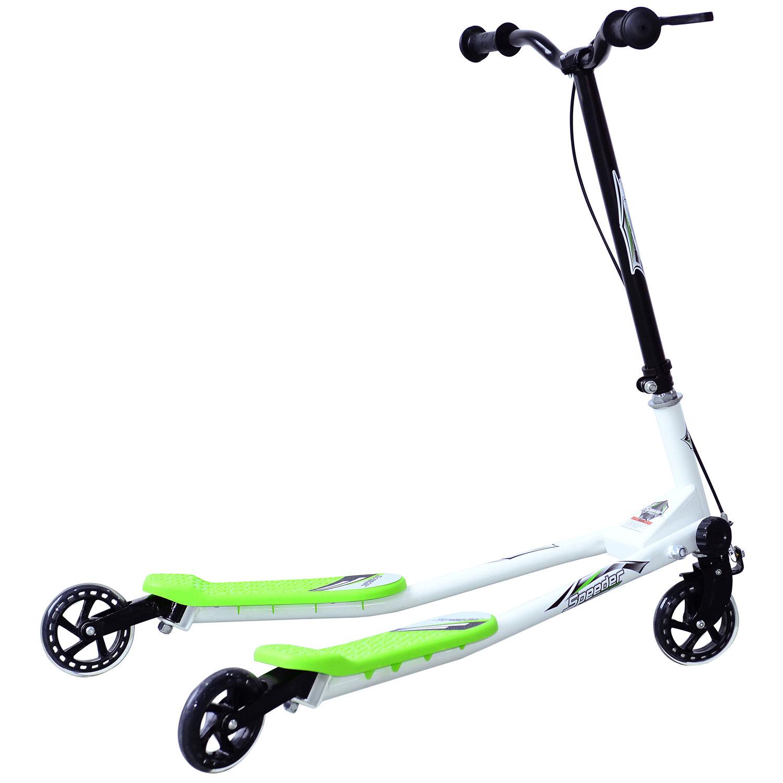 Kids-3-Wheels-Speeder-Scooter-Tri-Slider-Winged-Push-Motion-Children-Adjustable thumbnail 17