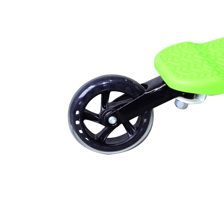 Kids-3-Wheels-Speeder-Scooter-Tri-Slider-Winged-Push-Motion-Children-Adjustable thumbnail 23