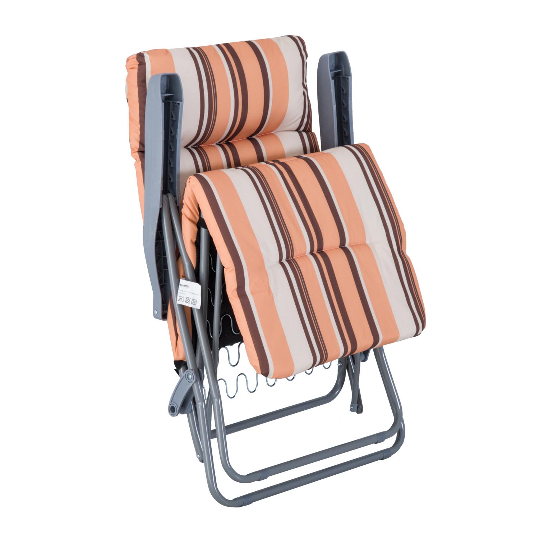 2 Adjustable Sun Lounger Reclining Garden Deck Chair ...
