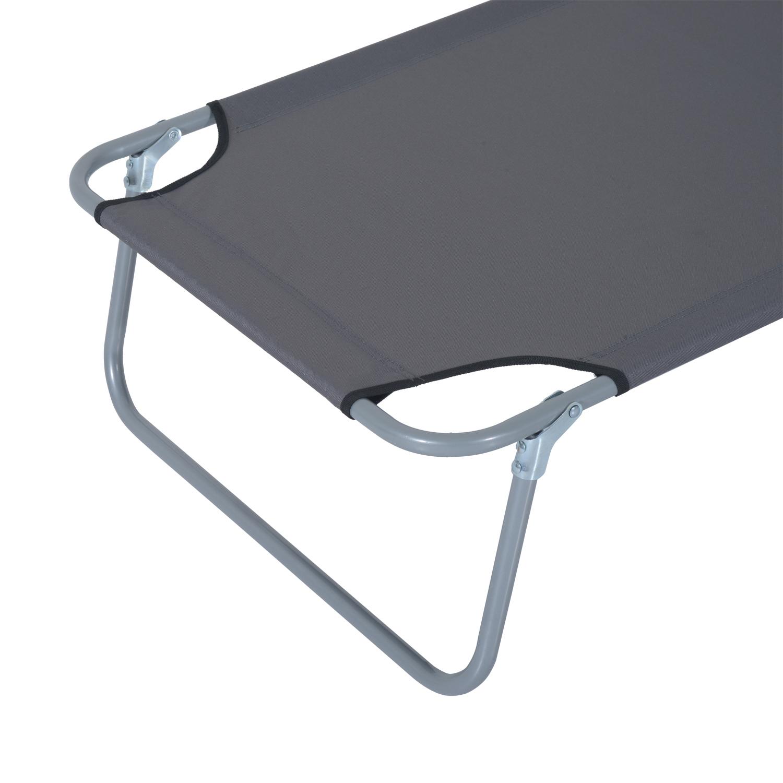 Reclining-Sun-Lounger-Chair-Folding-Recliner-Garden-Adjustable-Patio-W-Sunshade thumbnail 27