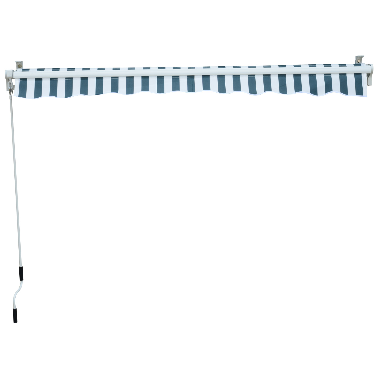 Garden-Patio-Manual-Awning-Canopy-Sun-Shade-Shelter-Retractable-4-Size-5-Colour thumbnail 23