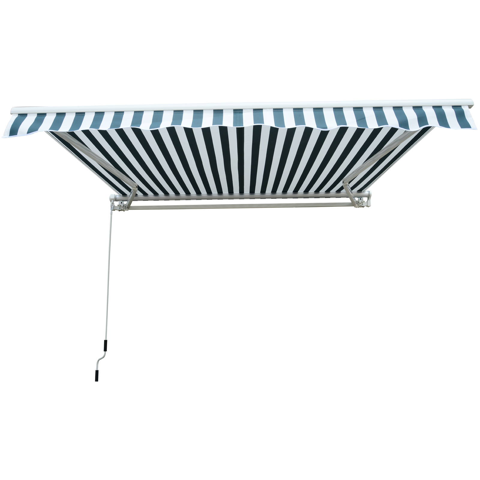 Garden-Patio-Manual-Awning-Canopy-Sun-Shade-Shelter-Retractable-4-Size-5-Colour thumbnail 25