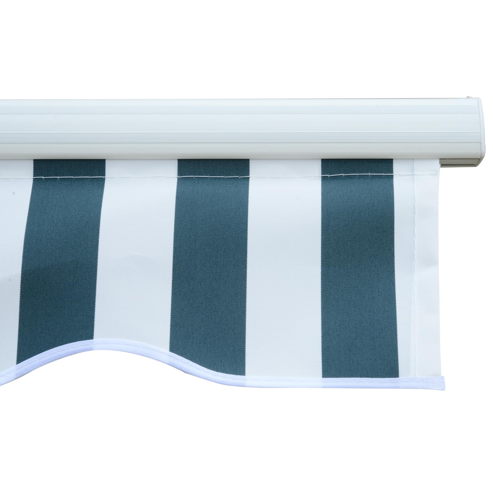 Garden-Patio-Manual-Awning-Canopy-Sun-Shade-Shelter-Retractable-4-Size-5-Colour thumbnail 29