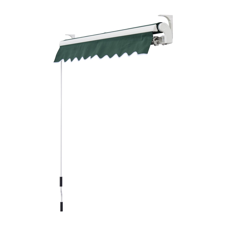 Garden-Patio-Manual-Awning-Canopy-Sun-Shade-Shelter-Retractable-4-Size-5-Colour thumbnail 14