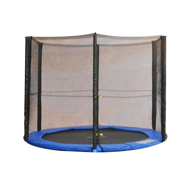 Red-de-Seguridad-Pared-Protectora-Cama-Elastica-Trampolin-Redonda-6-8-10-Barras miniatura 11