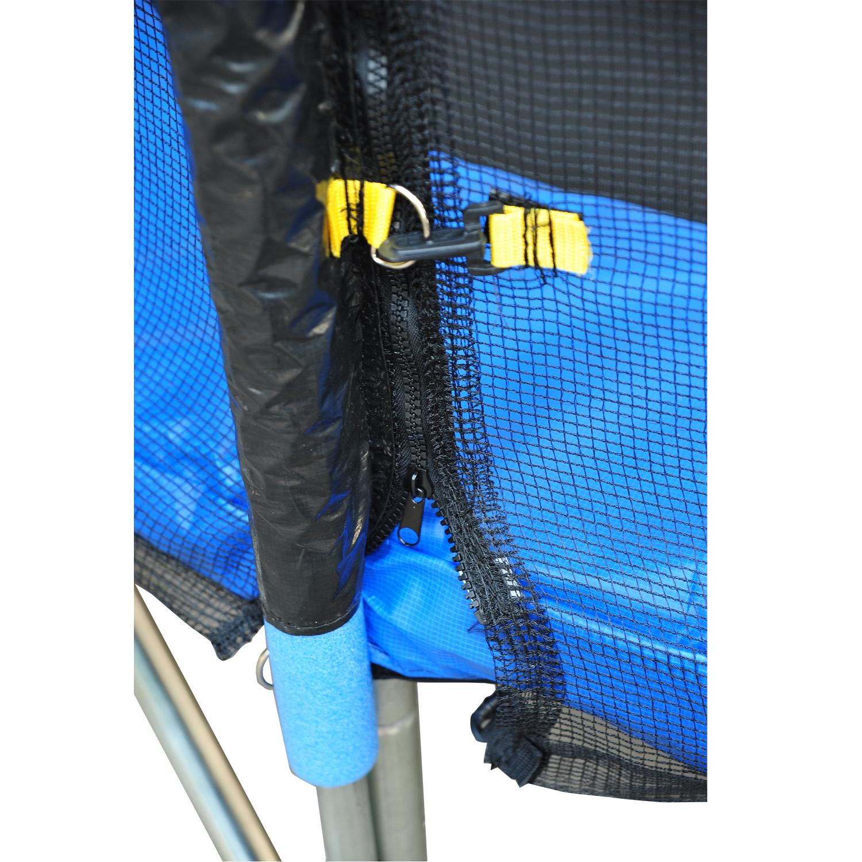 Red-de-Seguridad-Pared-Protectora-Cama-Elastica-Trampolin-Redonda-6-8-10-Barras miniatura 7