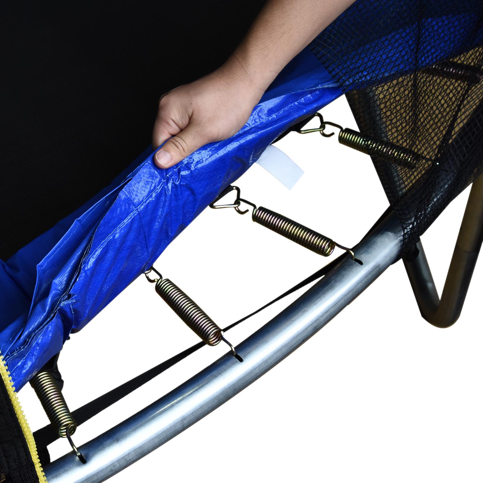 Cubierta-Protectora-para-Borde-de-Cama-Elastica-Trampolin-3-Medidas-Opcionales miniatura 5