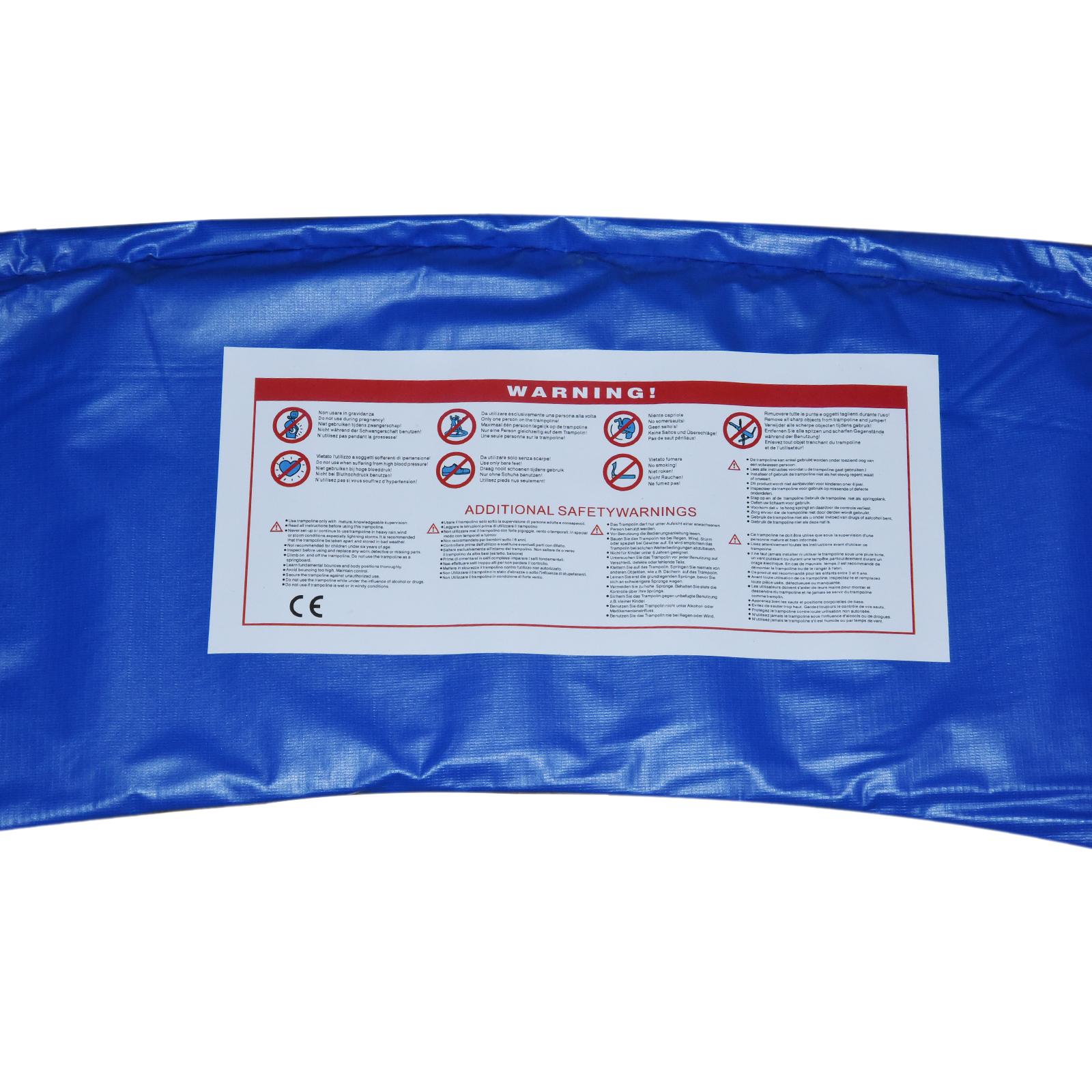 Cubierta-Protectora-para-Borde-de-Cama-Elastica-Trampolin-3-Medidas-Opcionales miniatura 9