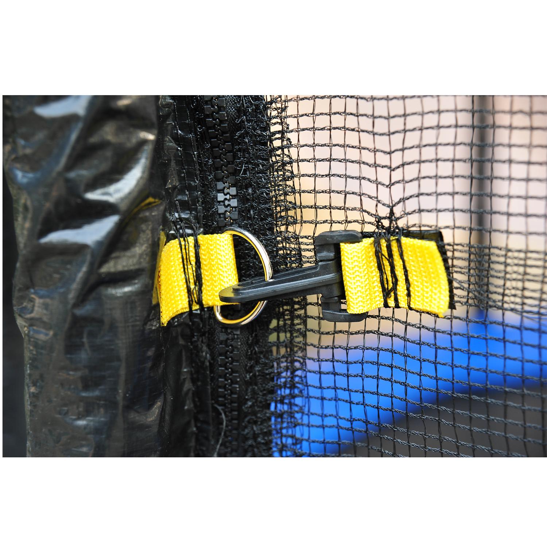 Red-de-Seguridad-Pared-Protectora-Cama-Elastica-Trampolin-Redonda-6-8-10-Barras miniatura 14