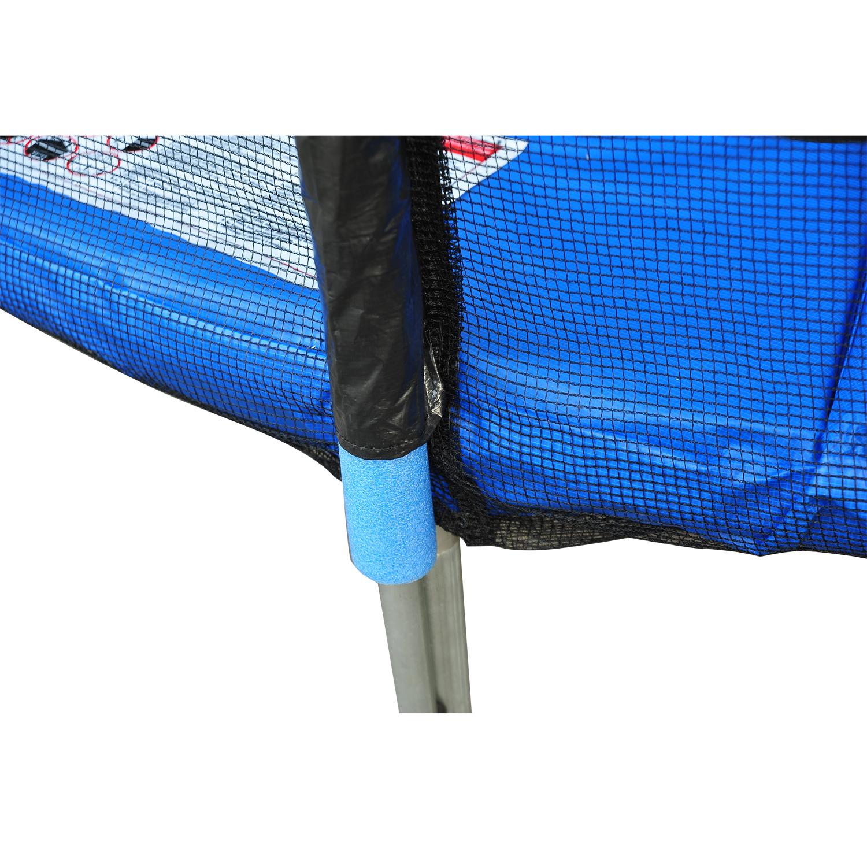 Red-de-Seguridad-Pared-Protectora-Cama-Elastica-Trampolin-Redonda-6-8-10-Barras miniatura 15