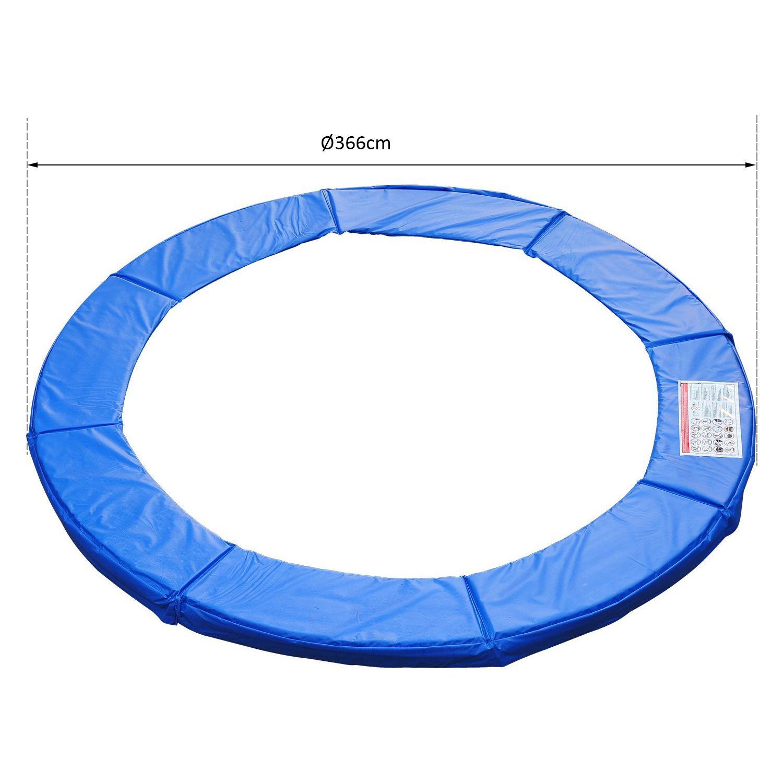 Cubierta-Protectora-para-Borde-de-Cama-Elastica-Trampolin-3-Medidas-Opcionales miniatura 27