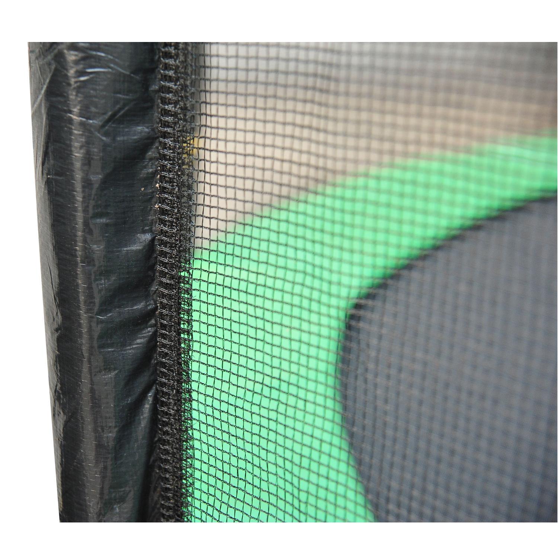 Red-de-Seguridad-Pared-Protectora-Cama-Elastica-Trampolin-Redonda-6-8-10-Barras miniatura 22