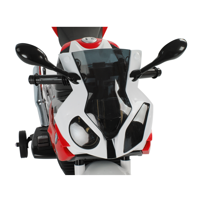Coche-Correpasillos-Ninos-3-8-anos-Moto-Electrica-Infantil-12V-Luces-y-Sonidos miniatura 27