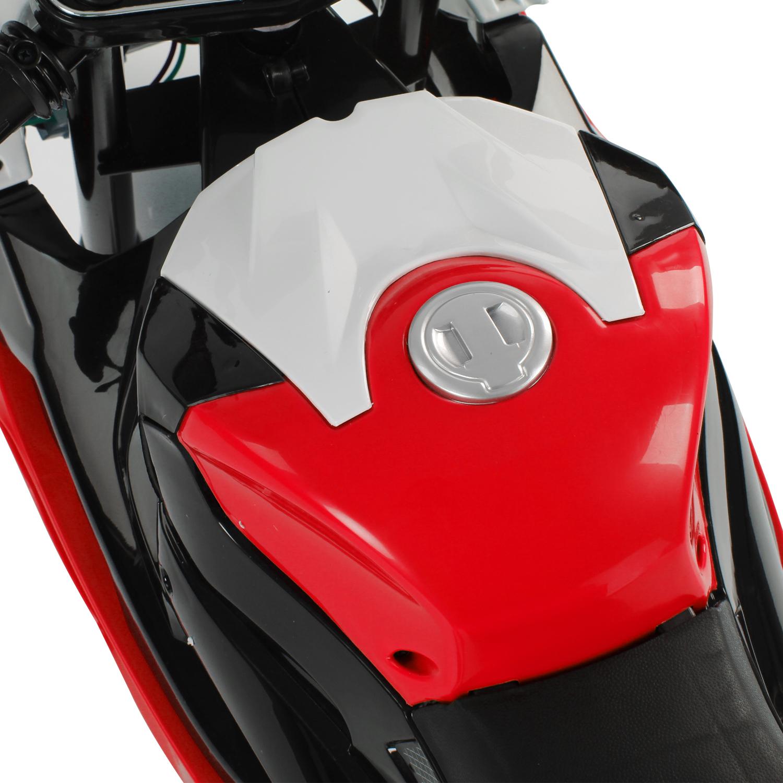 Coche-Correpasillos-Ninos-3-8-anos-Moto-Electrica-Infantil-12V-Luces-y-Sonidos miniatura 35