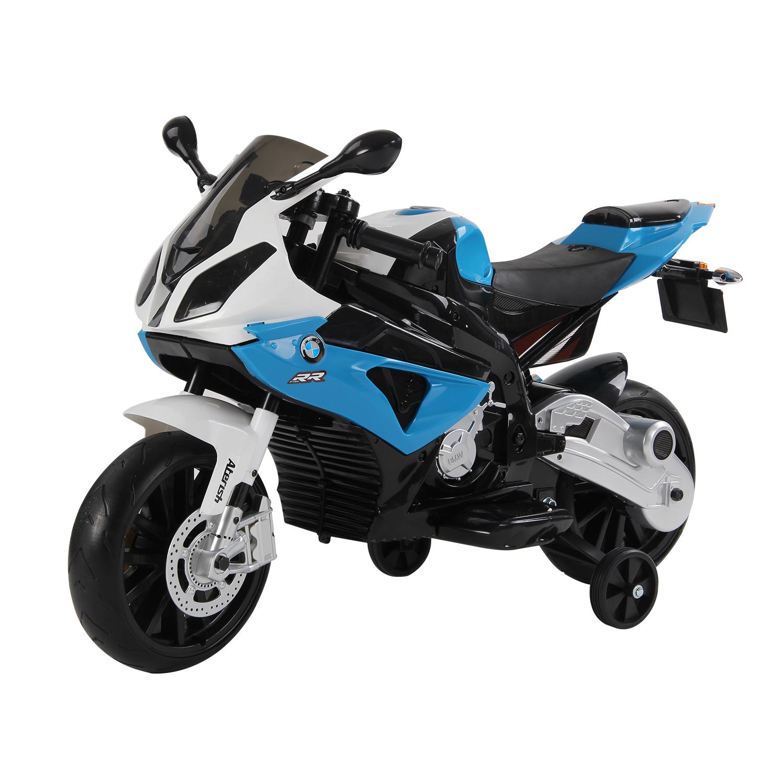 Coche-Correpasillos-Ninos-3-8-anos-Moto-Electrica-Infantil-12V-Luces-y-Sonidos miniatura 3