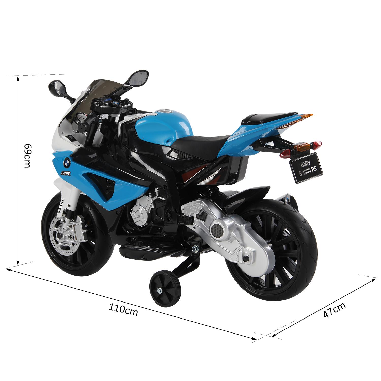 Coche-Correpasillos-Ninos-3-8-anos-Moto-Electrica-Infantil-12V-Luces-y-Sonidos miniatura 8