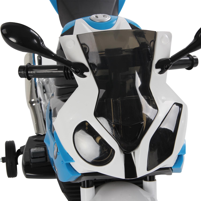 Coche-Correpasillos-Ninos-3-8-anos-Moto-Electrica-Infantil-12V-Luces-y-Sonidos miniatura 4