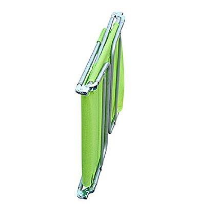 Tumbona-Inclinable-de-Acero-Plegable-con-Almohada-Playa-Piscina-Varios-Colores miniatura 35